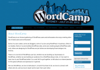 Post image for WordCamp Sydney 2012 is coming!