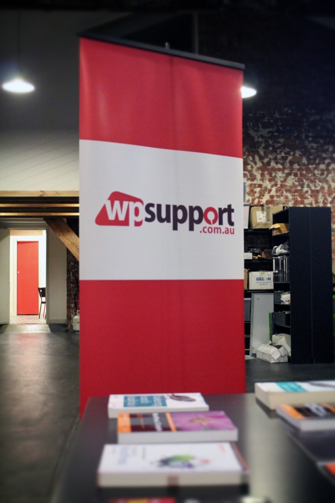 wpsupport.com.au Library and Banner